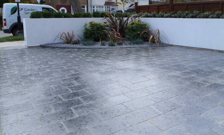 Did you know that we install driveways too?