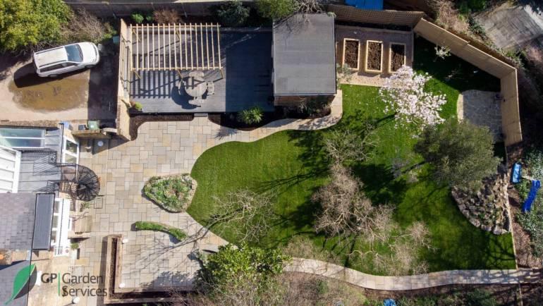 A full garden transformation