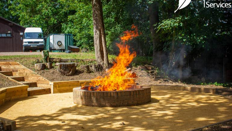 1st Cuffley Scout Group – Outdoor Meeting Area